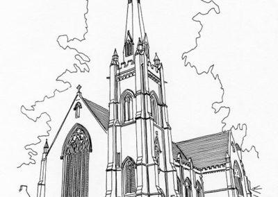 St Mary's roman catholic church, Blairs