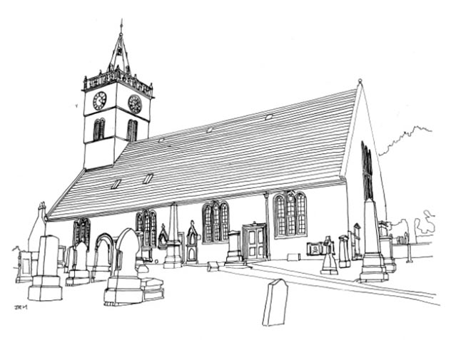 Anstruther Parish Church, Anstruther Easter