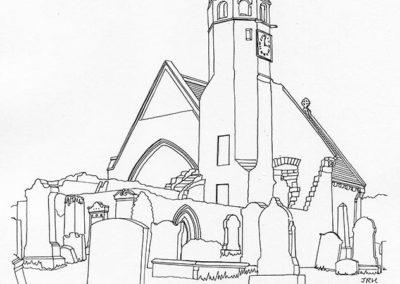St Bride's Collegiate Church, Douglas