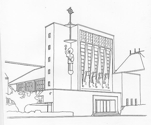 St Francis Xavier, Falkirk