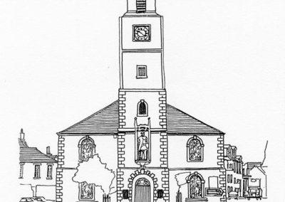 St Nicholas' Parish Church, Lanark