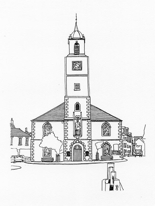 St Nicholas Parish Church, Lanark