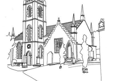 Dalry Parish Church, St John's Town of Dalry