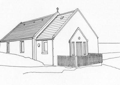East Yell Methodist Church, Otterswick, Yell