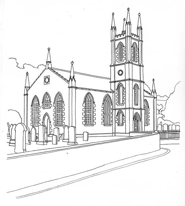 Glencairn Parish Church, Kirkland