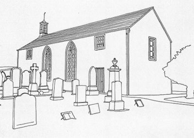 Glenisla Parish Church, part of the Isla Parishes