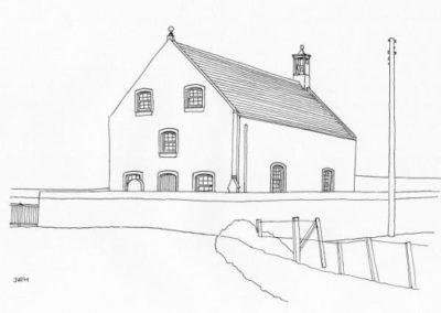 St Magnus' Parish Church, Hamnavoe, Yell
