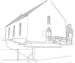Daliburgh Parish Church, South Uist