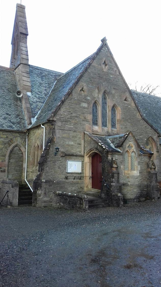 Craigrownie Church