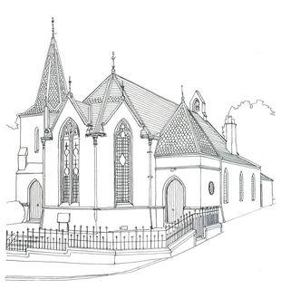 Newtown Church, Newtown St Boswells